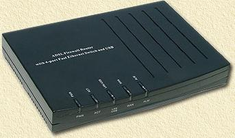 Suitable for MXStream: the eTech modem/router