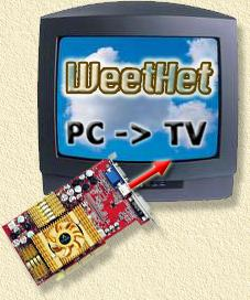 ATI videocards connected to your TV